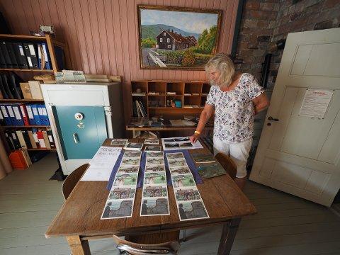 Hege Skalstad Olssen er guide på det gamle postmuseet.