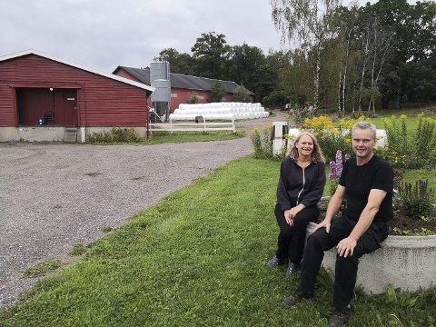 Velkommen til oss: Åpen gård 2019 blir arrangert på Gaupås Gård hos Heidi og Jan-Egil Sølvernes.         alle foto: Botne og Hillestad bondelag