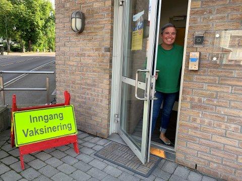 KLAR TIL Å TA IMOT- Vi starter allerede neste uke med å tilby tredje dose med koronavaksine til våre eldste innbyggere, sier Christine Berge, vaksinekoordinator i kommunen.