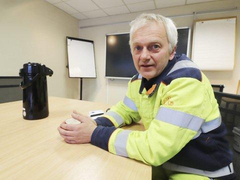 HADDE REKORDÅR I FJOR: Fabrikksjef for Hydro Holmestrand, Robert Grønli. ARKIVFOTO