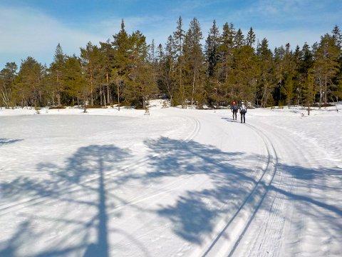FLOTTE FORHOLD: Bildet er tatt på Vestskauen sist søndag. Foto: Lars Ivar Hordnes