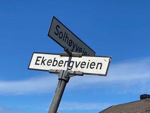 Tyver på ferde: En matpose bestilt av Helt Hjem ble stjålet natt til tirsdag, eller tidlig på morgenen tirsdag, i Solhøyveien i Holmestrand. Foto: Pål Nordby