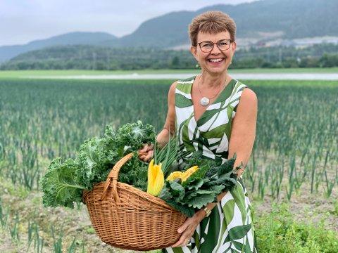 Kathrine Kleveland (Sp) er inne på Stortinget og tar ett mandat i fra Høyre og den siste meningsmålingen fra NRK og Amedia slår til.