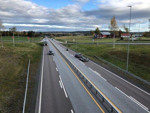 OMDISKUTERT: Den videre utbyggingen av E16 mellom Ullensaker og Kongsvinger er omstridt blant innbyggerne i de berørte kommunene.