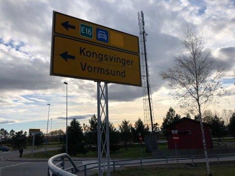 HAR INNSTILT: Styret Ullensaker Arbeiderparti går inn for å bruke den eksisterende veien mellom Kløfta og Nybakk.