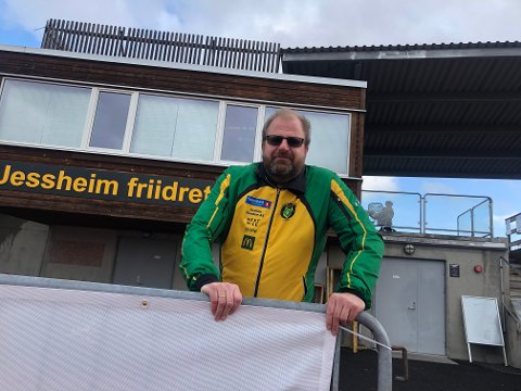 ARRANGERER: Hans Jørgen Borgen og Ull/Kisa arrangerer Norgesløpet på Jessheim i helga.