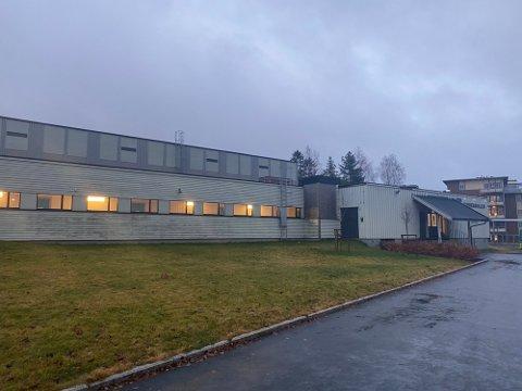 TRENGER MER PLASS: Jessheimhallen ble bygget på 70-tallet og begynner å bli trang.