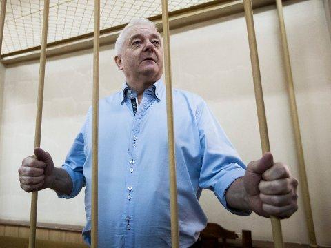 VENTER PÅ BENÅDNING: Frode Berg er dømt for spionasje i Russland og har søkt om å bli benådet.