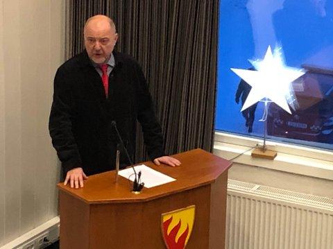 FORSVARTE: Rune Rafaelsen forsvarte Kina-reisene han har hatt for kommunen de siste årene. 3. januar skal han på en ny tur.