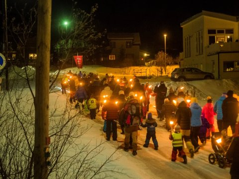 TOG: Hundreårstoget gikk gjennom Sandnes sist lørdag i anledning at bygdas idrettslag fylte hundre år.