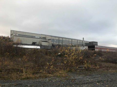 BRANNTILLØP: Her ved lokalene til Sydvaranger i Kirkenes var det branntilløp tirsdag.