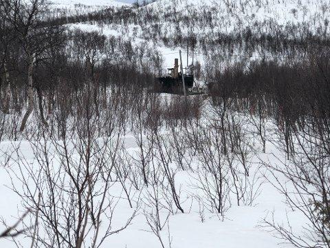 UVIRKELIG: Tiltaltes fraseparerte kone fortalte om at det som skjedde i og utenfor hytta i Bugøyfjord i april var et uvirkelig scenario.