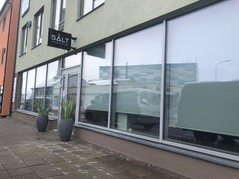 STENGER: Her åpnet sushirestauranten Salt dørene i desember 2018. Nå har de meldt oppbud på grunn av korona.