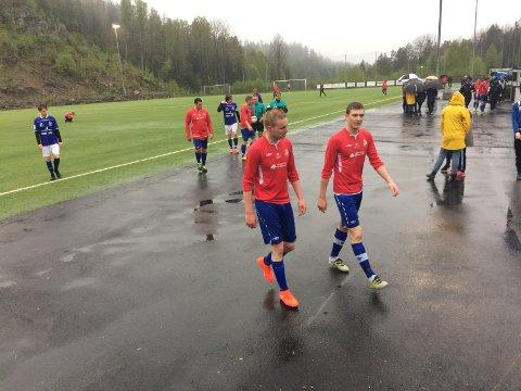 Det var 0-0 til pause i Sannidal, men nå har Drangedal tatt ledelsen 1-0.