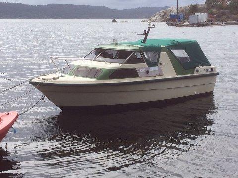 Har noen sett denne båten?