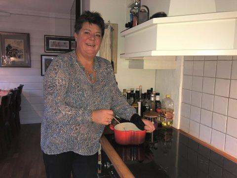 Gleden med å lage god mat har Anette Sivertsen fått med seg hjemmefra.