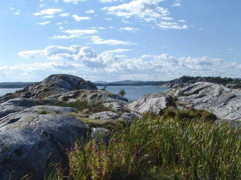 Korseholmen er en av øyene der det var gruvedrift.