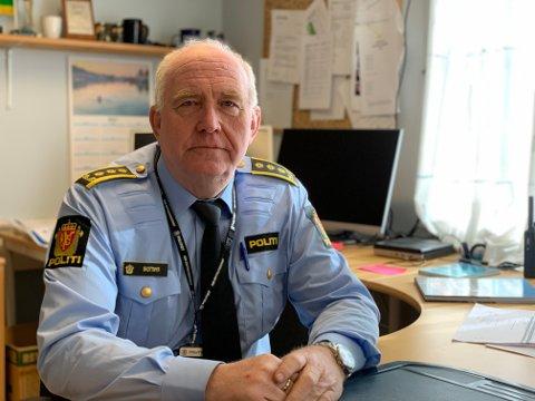Politistasjonssjef Øystein Skottmyr.
