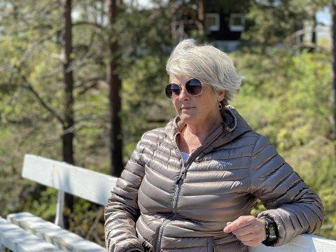 PÅRØRENDE: Elsie Berg forteller at det har vært krevende å være pårørende i møte med Kragerø kommune.