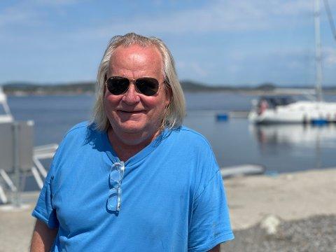 ÅPNER: Trond Bratsberg er klar for å sparke i gang sesongen på Haga.