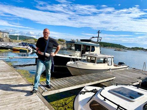 POPULÆRT TILBUD: Dennis Van Voornveld har truffet blink med ny business i kragerøskjærgården.
