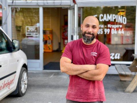 Da Mido Jonas overtok gatekjøkkenet for bare et par år siden, var det tyngre tider. I dag driver han med stor suksess.