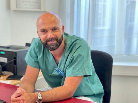 NY: Christian Pape er den nye fastlegen hos Kragerø Legesenter.