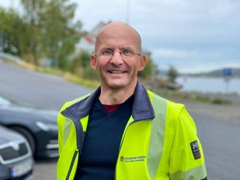 NY SJEF: Ernst Kalseth er fast ansatt som virksomhetsleder for vann, avløp og renovasjon.