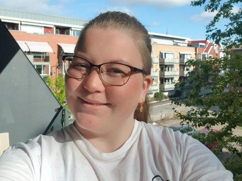 BLE FRISK: Som liten måtte Cathrine Stølan Sundset (26), som flyttet til Sandefjord i sommer, gjennom en tøff kreftbehandling. Det gjorde at radiografen valgte å ta videreutdanning som stråleterapeut for noen år siden.