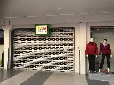 Sportsbutikken MX Sport på Husnes stengde dørene i slutten av desember.