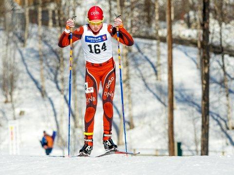 TILBAKE: Otto Femsteinevik er tilbake som skiskyttar etter to år med mykje sjukdom og motgang. 18-åringen ser fram til å konkurrera igjen. (Foto : Ole Reidar Mathisen).