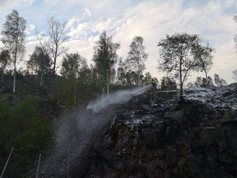 Alle foto: Ruben Medhus, vakthavande i Kvinnherad brann og redning.