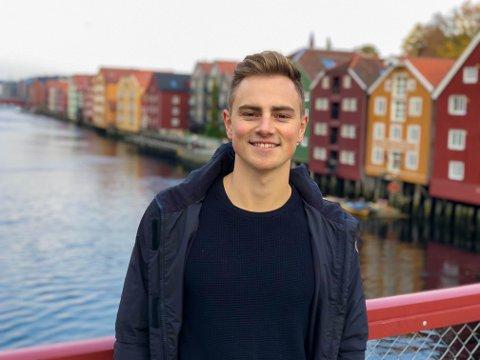Anders Bennæs i Trondheim.