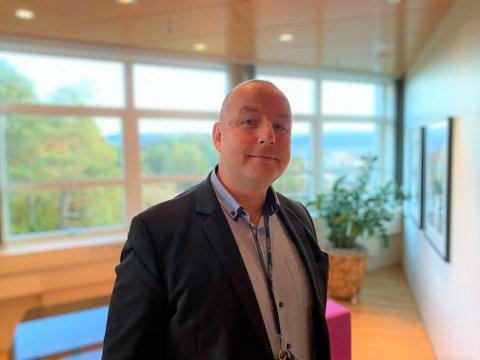 Ketil Tømmernes er tilsett som administrerande direktør i BKK Nett. (Pressefoto).