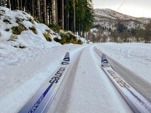 SISTE SJANSE: Er du glad i å stå på ski, bør du nytta høvet denne veka. Det blir nemleg mykje mildare framover, melder meteorologen.