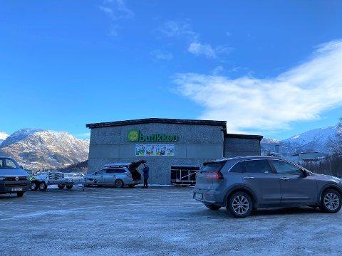 SELT: Det er lokale folk som har kjøpt Felleskjøpet-bygget i Dimmelsvik. (Arkivfoto)