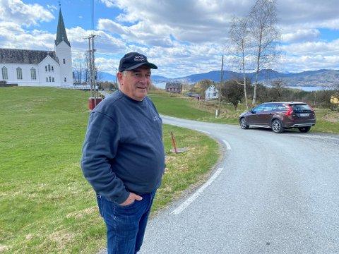 Arild Gjuvsland, ein av innbyggjarane på Varaldsøy, var som alle andre svært prega av den tragiske hendinga som råka øya torsdag kveld.