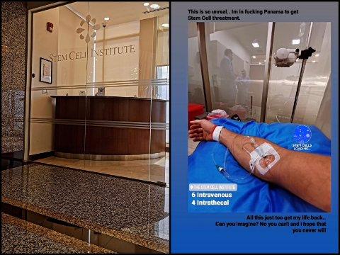«HOLA»: Stamcellebehandlingen til Geir Kåre Cemsoylu Nyland i Panama koster rundt 200.000 kroner. Men som Haugesunds Avis har skrevet tidligere, har det blitt samlet inn over 1,6 millioner kroner til inntekt for «GK», som han gjerne bare kalles.