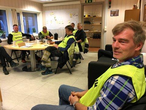 SLUTT: Streiken er over og de ansatte som har streiket ved Flesberg everk, kan gå tilbake til arbeidet sitt.