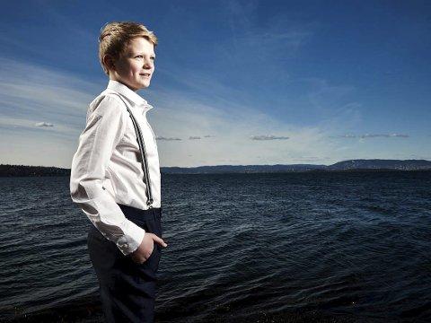 Sopran: Aksel Rykkvin, som er født i 2003, skal synge under avslutningskonserten i Kongsberg kirke. Tross sin unge alder har han oppnådd mye internasjonal anerkjennelse allerede.