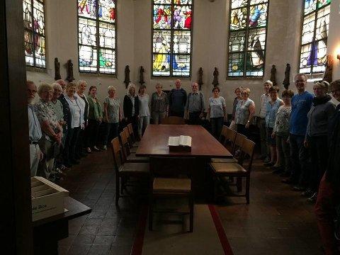 Blandakoret i det lille kapellet i Sint Janskerk