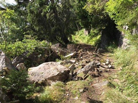 RAS: Det er nå merket opp en alterntiv rute for å komme til Ivarsbu.