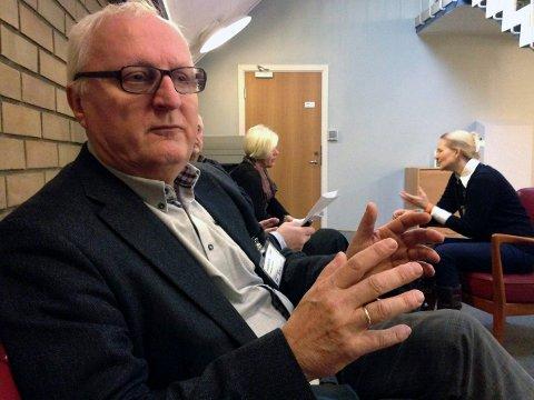 BLIR VALGT: Dersom noe dramatisk ikke skjer, er Morten Eriksrød sikret plass for Kongsberg og Høyre i Viken fylkesutvalg. Eriksrød har lang fartstid i fylkespolitikken.