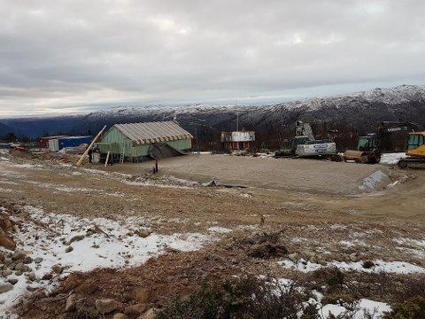 HELT NYTT:  når det nye høydebassenget er ferdig vil det nesten ikke bli synlig i terrenget. Planen er at bassenget skal stå ferdig januar 2019.