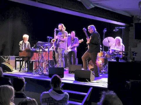 KONSERT: Krokofant spilte på Mølla onsdag kveld.