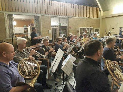 SPILTE BRA: Kongsberg Byorkester fikk med seg en sjetteplass fra helgens regionmesterskap i Lillestrøm.