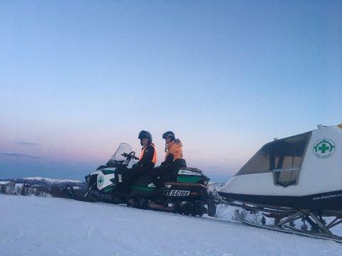OPPDRAG: 2. påskedag måtte Norsk Folkehjelp rykke ut etter at en skiløper ble meldt savnet på Vegglifjell.