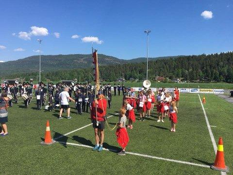 Kongsgårdmoen skolekorps og HMK Garde