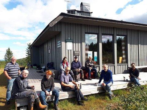 Dugnadsgjengen besto av folk fra KFUK-KFUM, Norkirken og Kongsberg og Jondalen menighet.