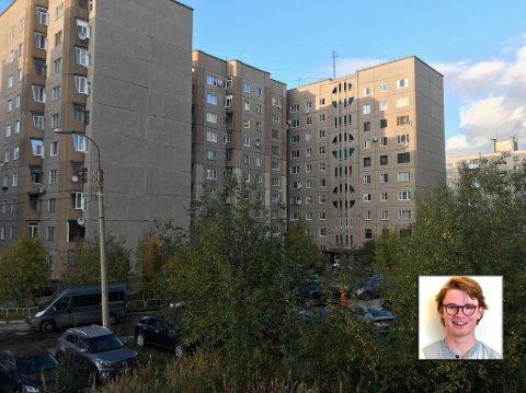 UT FOR Å OPpLEVE: Bror Eskil Heiret (18) fra Kongsberg ønsket å oppleve nye ting, utenfor byens grenser. Derfor reiste han  Murmansk i Russland.